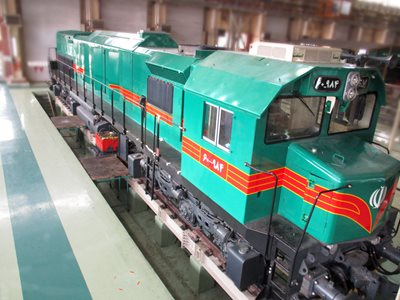GT26CW-3 Locomotive Reconstruction Project