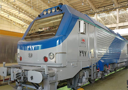 Alstom Locomotive Reconstruction Project
